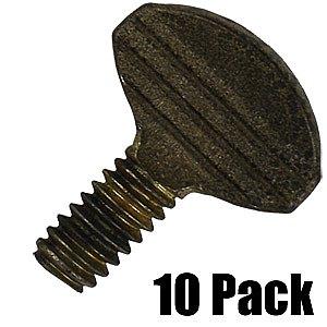 Thumb Screws - 1/2'' L, 1/4'' Thread - 10 Pack